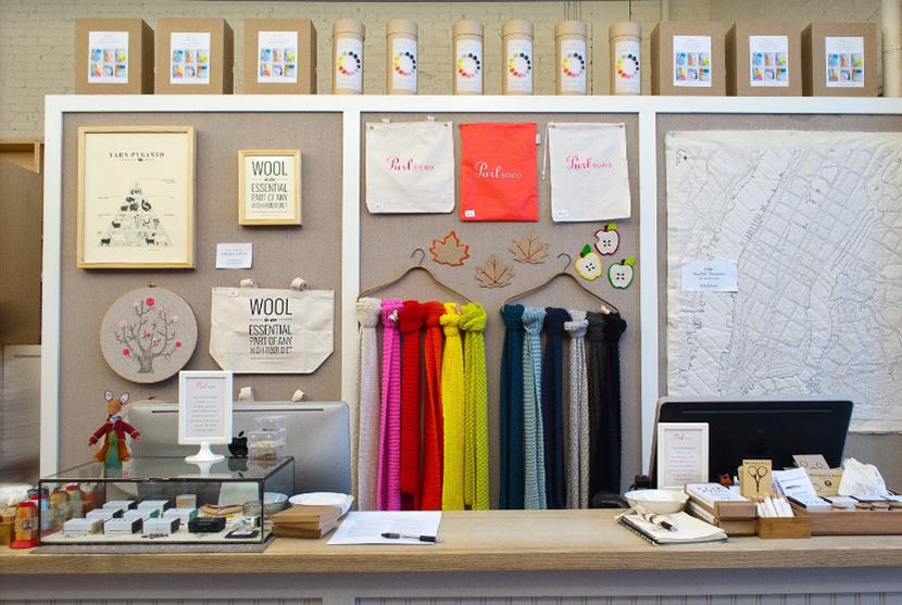 Purl Soho - Der Strickladen in New York