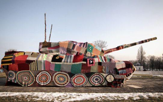Strickpanzer - Eine Dokumentation - Geflechtsbericht