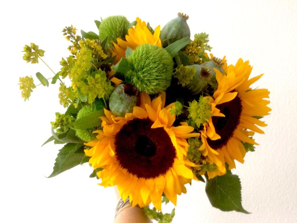 KNITMargrit liebt Blumen - hygge
