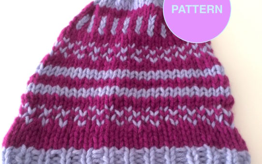Pattern Violett Girly